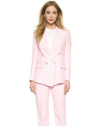Blazer croisé rose Temperley London