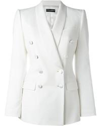 Blazer cruzado blanco de Dolce & Gabbana