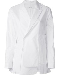 Blazer cruzado blanco de JULIEN DAVID
