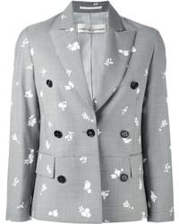 Blazer cruzado de lana gris de Golden Goose Deluxe Brand
