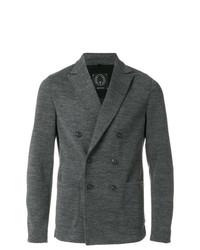 Blazer cruzado en gris oscuro de T Jacket