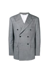 Blazer cruzado gris de Calvin Klein 205W39nyc