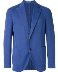 Blazer de algodón azul de Boglioli