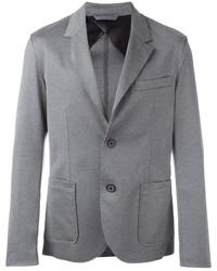 Blazer de algodón gris de Lanvin