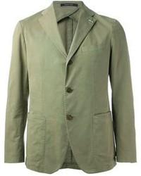 Blazer de algodón verde oliva de Tagliatore