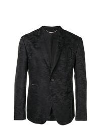 Blazer de camuflaje negro de Philipp Plein
