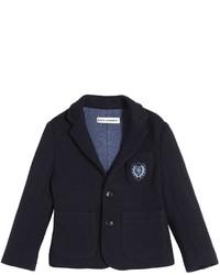 Blazer de lana azul marino de Dolce & Gabbana