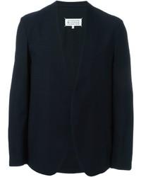 Blazer de lana azul marino de Maison Margiela