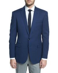 Blazer de lana azul marino de Ralph Lauren