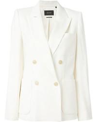 Blazer de lana blanco de Isabel Marant