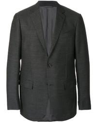 Blazer de lana en gris oscuro de Ermenegildo Zegna