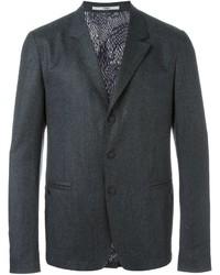 Blazer de lana en gris oscuro de Kenzo