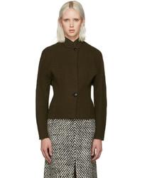 Blazer de lana en marrón oscuro de Isabel Marant