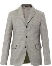 Blazer de lana gris