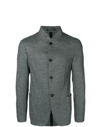 Blazer de lana gris de Emporio Armani