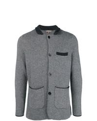 Blazer de lana gris de N.Peal