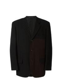 Blazer de lana negro de Comme Des Garçons Vintage