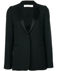 Blazer de lana negro de Victoria Beckham