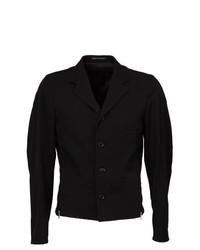 Blazer de lana negro de Yohji Yamamoto