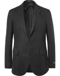 Blazer de lino negro de Polo Ralph Lauren