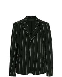 Blazer de rayas verticales en negro y blanco de Haider Ackermann