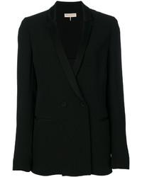Blazer de seda negro de Emilio Pucci
