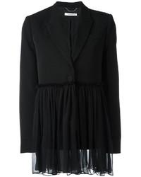 Blazer de seda negro de Givenchy
