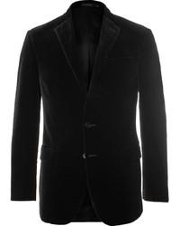 Blazer de Terciopelo Negro de Polo Ralph Lauren
