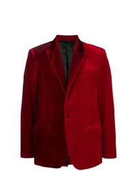Blazer de Terciopelo Rojo de Golden Goose Deluxe Brand