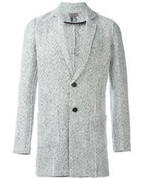 Blazer de tweed blanco