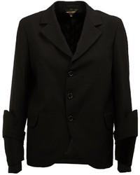 Blazer en laine noir Comme des Garcons