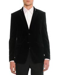 Blazer en velours noir Givenchy