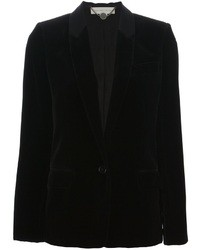 Blazer en velours noir Stella McCartney