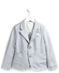 Blazer gris de Armani Junior