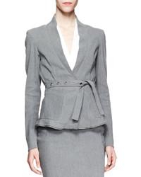 Blazer gris Donna Karan