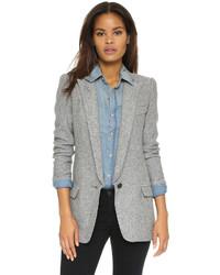 Comprar blazer gris mujer