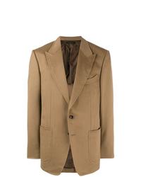 Blazer marrón claro de Tom Ford