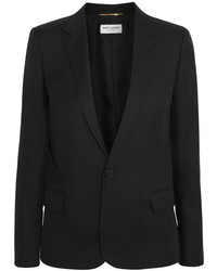 Blazer negro de Saint Laurent