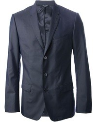 Look the best you possibly can in charcoal wool trousers and a blazer jacket.