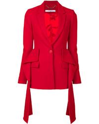Blazer rojo de Givenchy