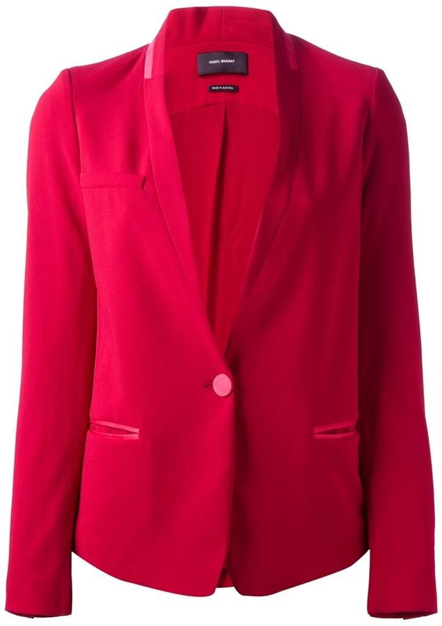 Blazer rosa de Isabel Marant
