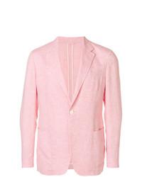 Blazer rosado de Ermenegildo Zegna
