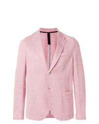 Blazer rosado de Harris Wharf London