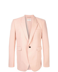 Blazer rosado de Saint Laurent