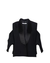 Blazer sin mangas negro de Givenchy