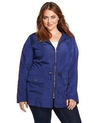 Ava & Viv Plus Size Anorak Rain Jacket