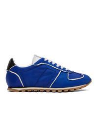 Maison Margiela Blue And White Runner Sneakers