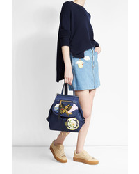 Marc Jacobs Fabric Backpack With Patches