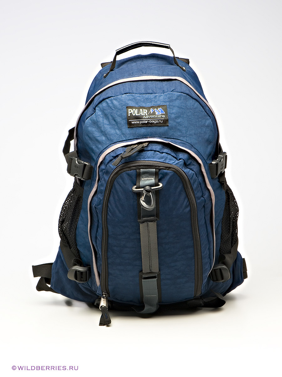 Blue Backpack By Polar