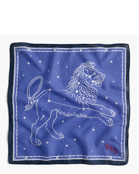 J.Crew Bandana In Leo Constellation